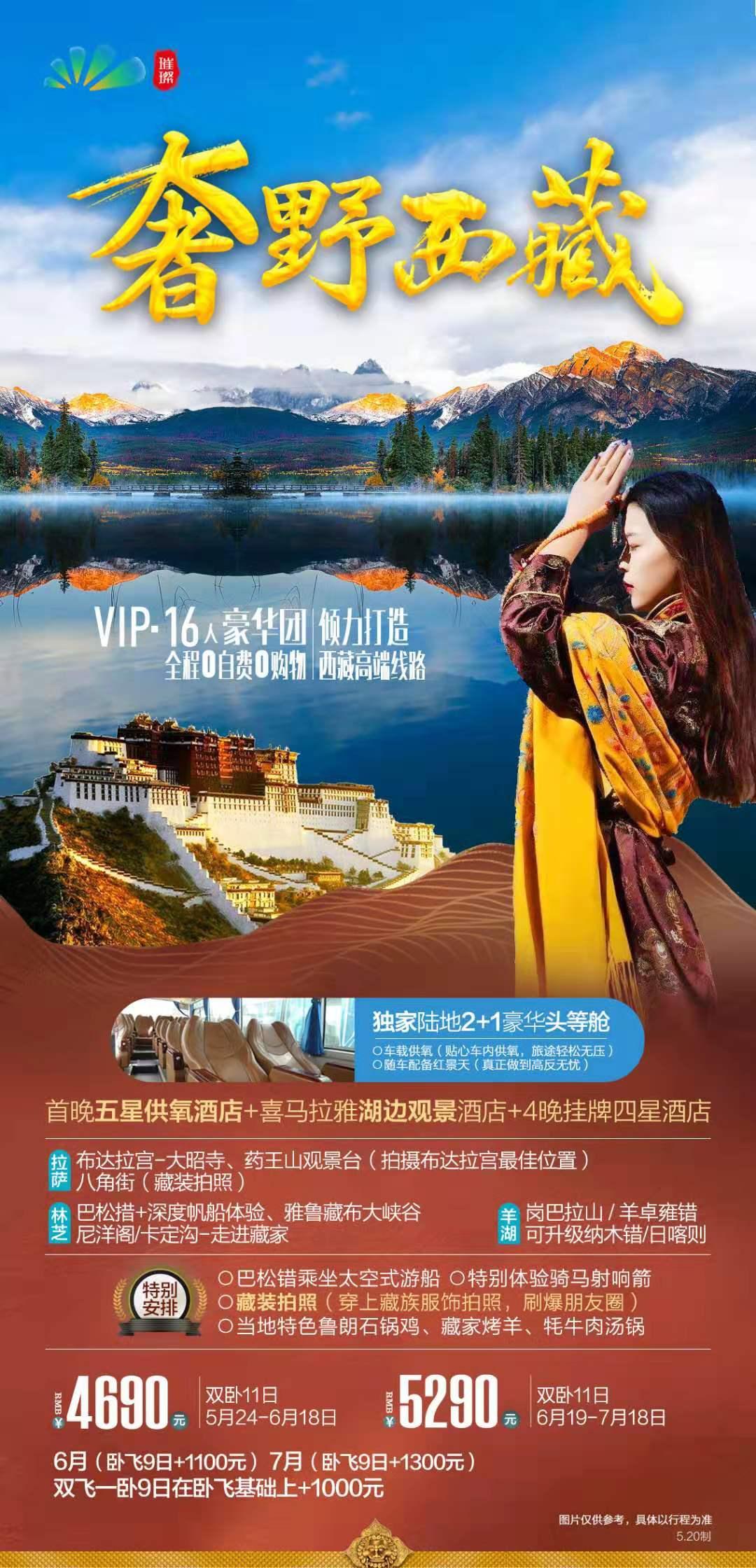 西藏高端线路